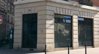 Local d'angle 156m2 belle visibilité à Paris 13ème